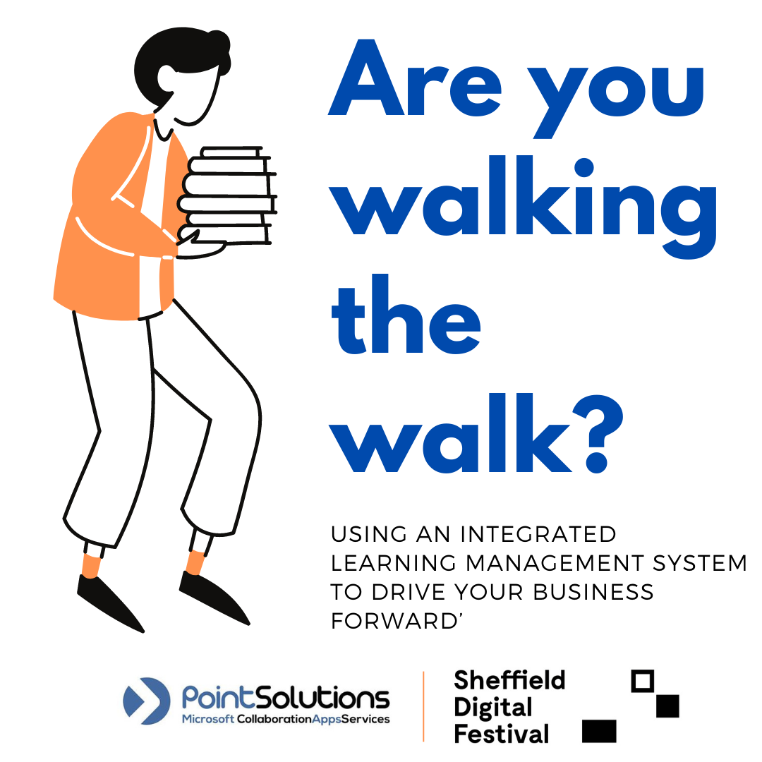 Are you walking the walk? Using an integrated Learning management system to drive your business forward - PointSolutions header image