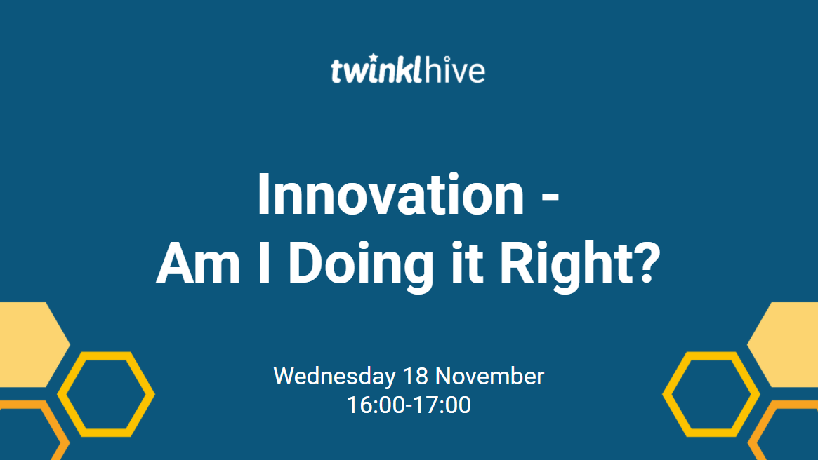 Innovation: Am I Doing it Right? - TwinklHive header image