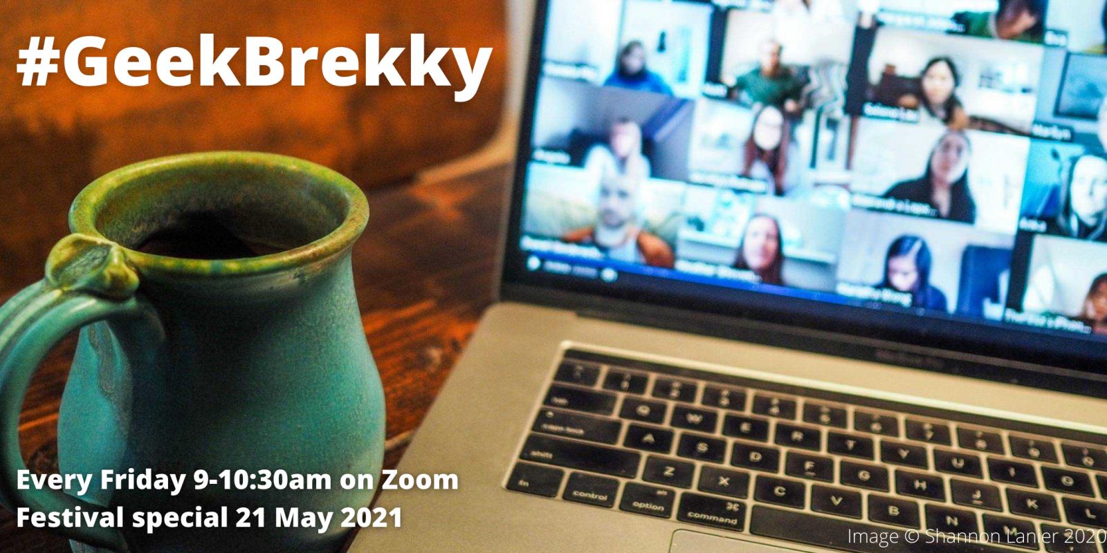 GeekBrekky - Festival Special - Sheffield Digital header image