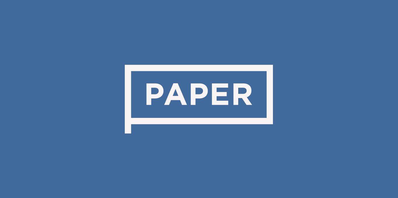 Paper header image