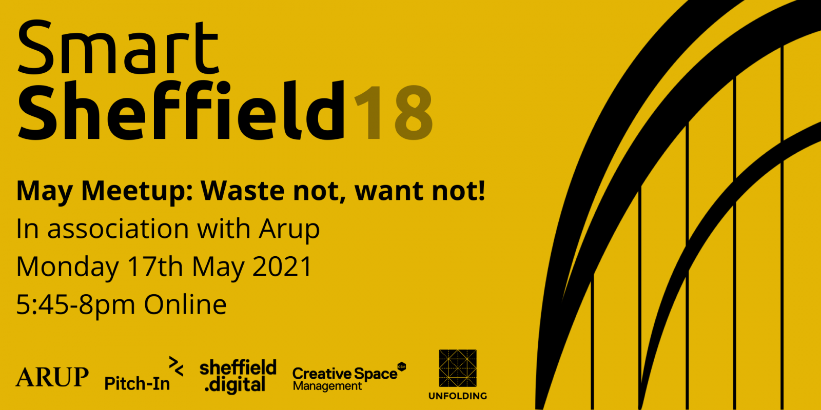 SmartSheffield 18: Waste not, want not! - Unfolding Ltd header image