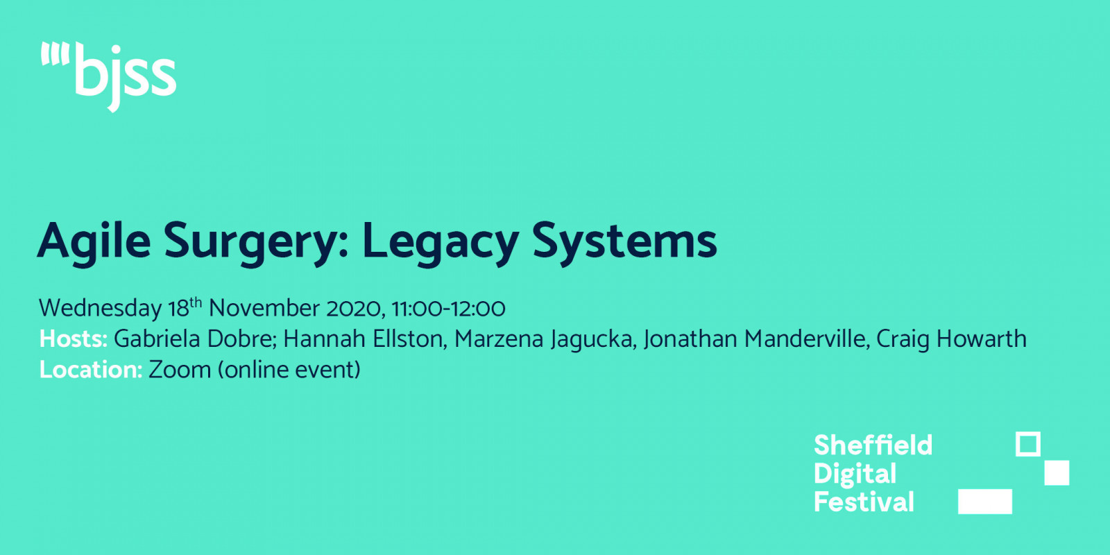 Agile Surgery: Legacy Systems - BJSS header image