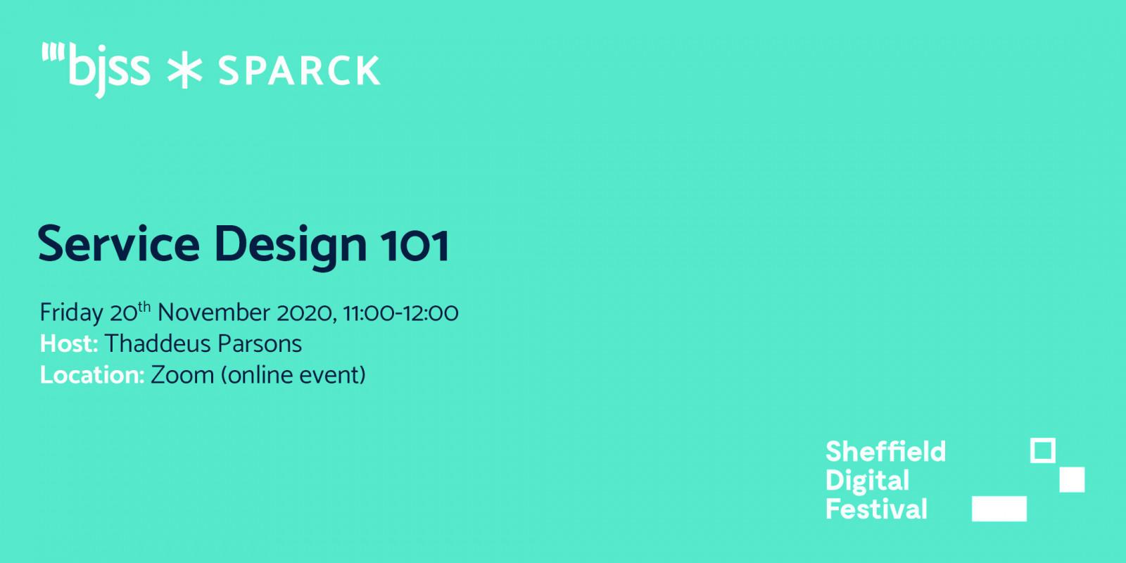 Service Design 101 - SPARCK header image