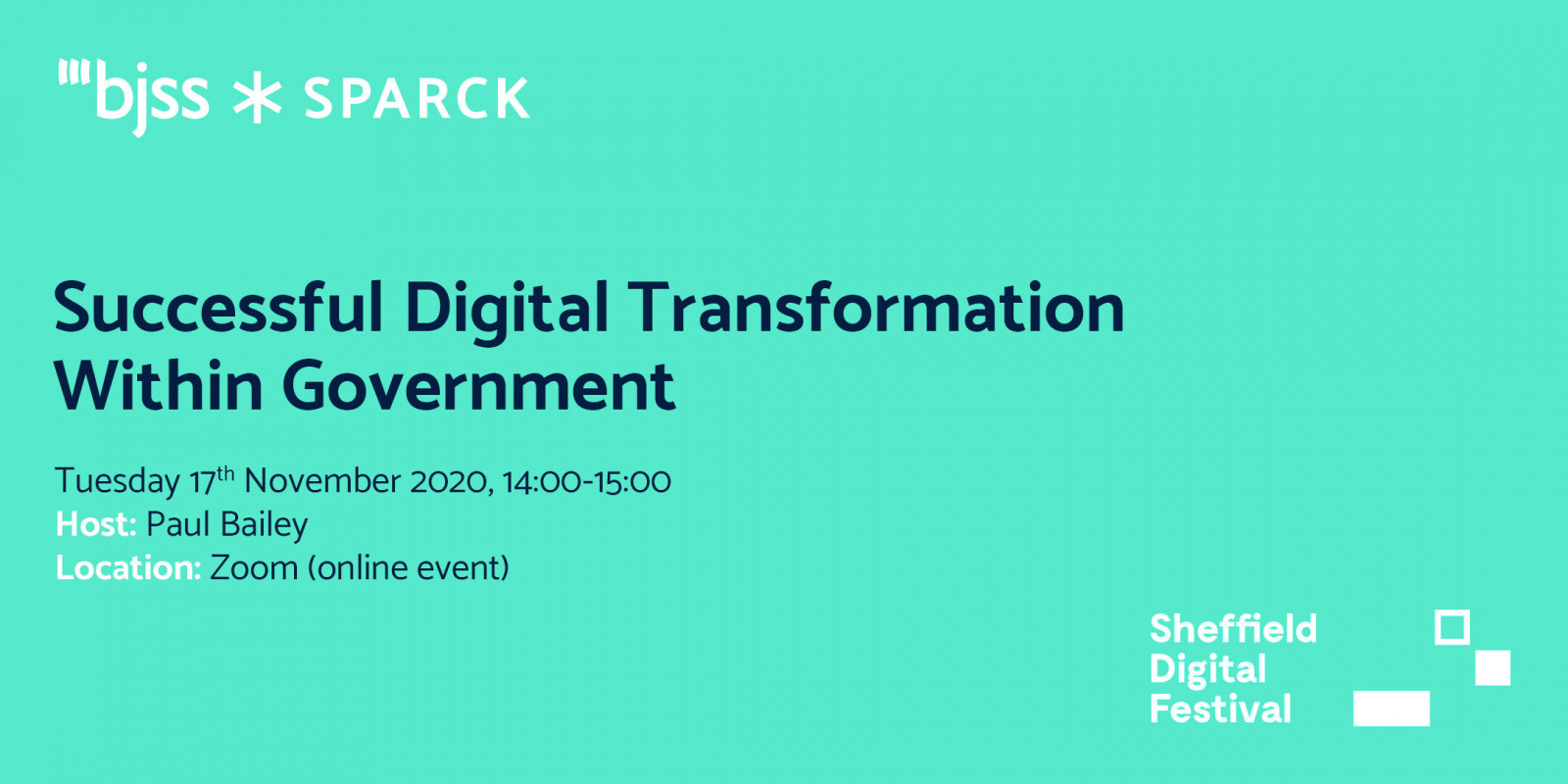 Successful Digital Transformation Within Government - SPARCK header image