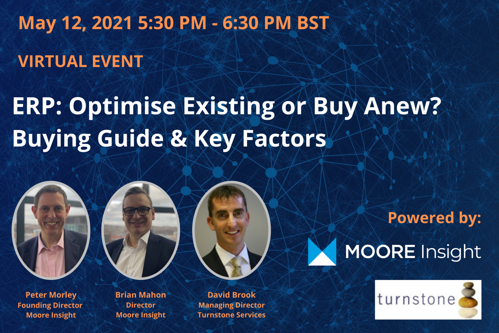 ERP: Optimise Existing or Buy Anew? Buying Guide & Key Factors  - Moore Insight header image