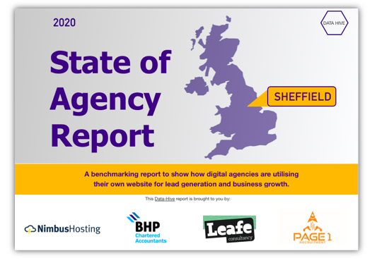 State of Agency Report - Sheffield - www.Data-Hive.co.uk header image