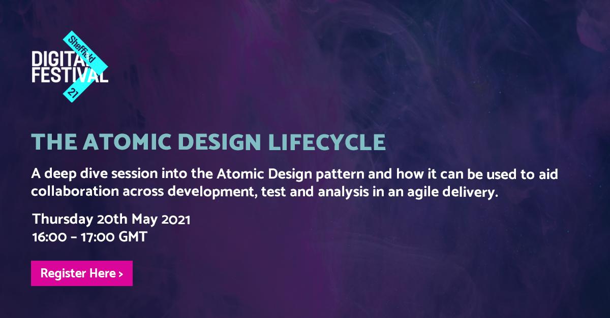 The Atomic Design Lifecycle - BJSS header image